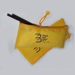 25 TROUSSES JAUNE NON TISSE IB